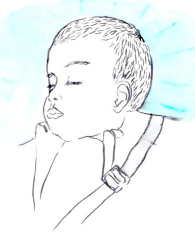 ilustracion hijo, claudia vidal diseñadora