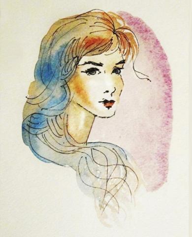 ilustracion-mujer-claudia-vidal-diseñadora